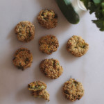 Greek recipes #2: zucchini, feta & mint fritters