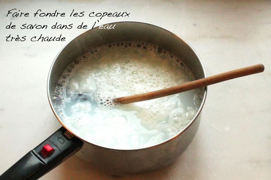 Lessive savon de marseille écologique