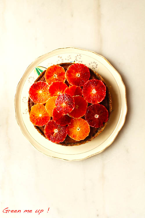 tarte chocolat panais orange