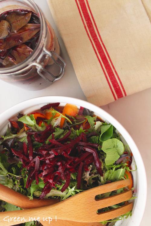 betteraves lactofermentées fermentation probiotiques salade sain bactéries