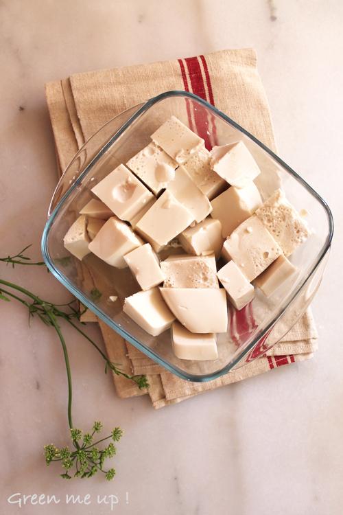 agar amande lait cubes