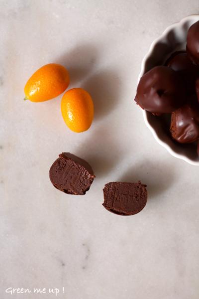 truffes chocolat végétale vegan protéines