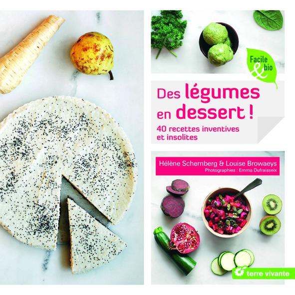 livre légumes dessert