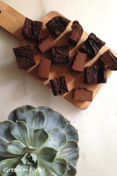 fondant chocolat courge facile trois ingrédients végétalien vegan